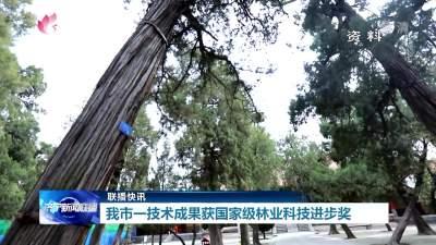 优秀!济宁一技术成果获国家级林业科技进步奖