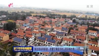 鱼台县谷亭街道:党建引领促农村人居环境改善