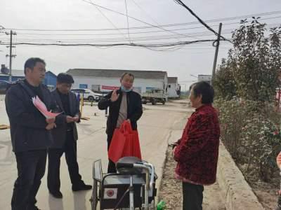 金鄉雞黍鎮鄉村振興服務隊: 做冬日暖陽 為群眾暖心