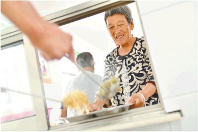 蹲点调查丨幸福食堂:养老从一口热乎饭开始