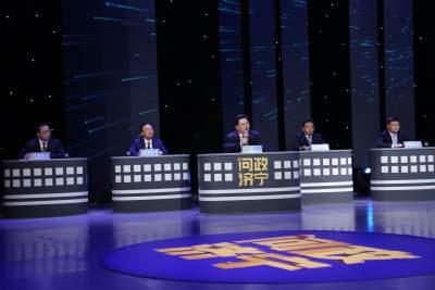 济宁市教育局党组书记 局长高广立接受现场问政