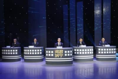 济宁市商务局党组书记、局长张公迁接受现场问政
