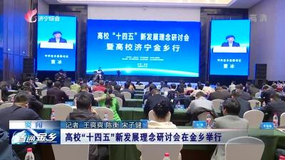 """高校""""十四五""""新发展理念研讨会在金乡举行"""