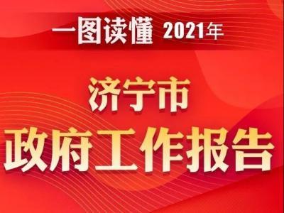 一图读懂 | 2021年济宁市政府工作报告