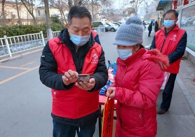 居民核酸檢測信息預登記 牌坊街社區在行動