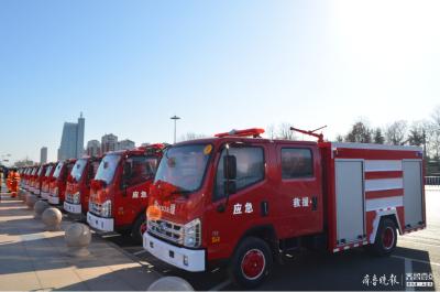 應急救援更有底氣 兗州發放11輛微型應急救援車輛