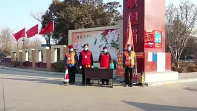 兗州志愿服務進社區 助力疫情防控