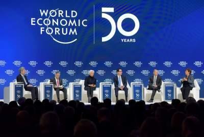 """世界經濟論壇""""達沃斯議程""""對話會特別報道"""
