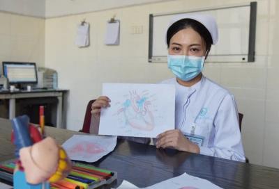 """厲害!護士手繪心臟血液循環圖,讓人秒懂""""心臟"""""""