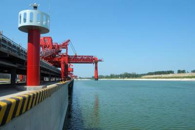 """济矿物流更名为""""梁山港"""" 今年3月将通航"""