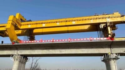 2021年底通车!鲁南高铁曲阜到兰考段架梁全部完成