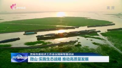 专访 | 微山县委书记张茂如:实施生态战略 推动高质量发展