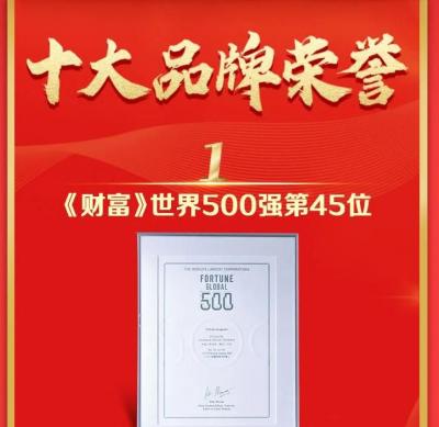 中國人壽2020年度十大品牌榮譽