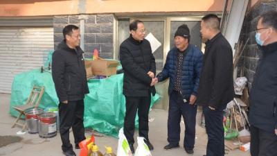 汶上县人社局开展2021年春节集中走访慰问活动