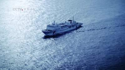 """时代楷模海军""""和平方舟""""号医院船"""