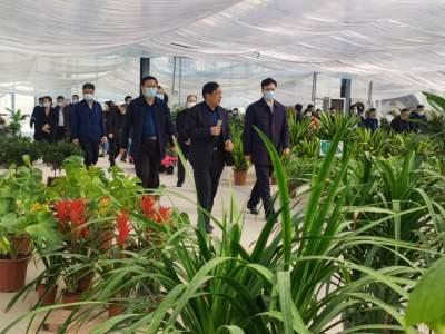 新疆喀什地区乡村振兴及农业产业园区建设考察团来济宁考察