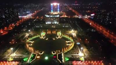 年味在济宁|流光溢彩过新年,兖州开启美丽夜景模式!