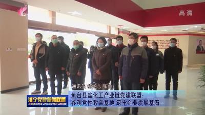 鱼台县盐化工产业链党建联盟:参观党性教育基地 筑牢企业发展基石