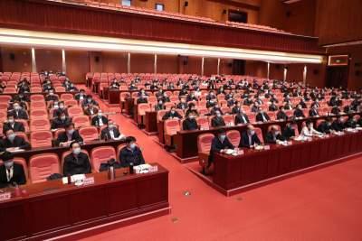 山东省党史学习教育动员大会在济召开