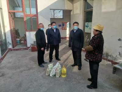 曲阜文化建设示范区开展贫困户入户走访活动