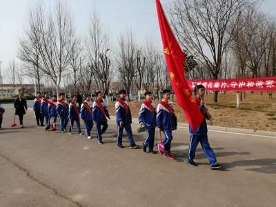 汶上县第二实验中学:传承雷锋精神 争做时代新人