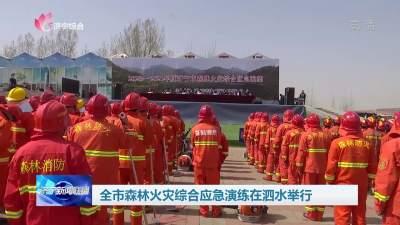 全市森林火災綜合應急演練在泗水舉行