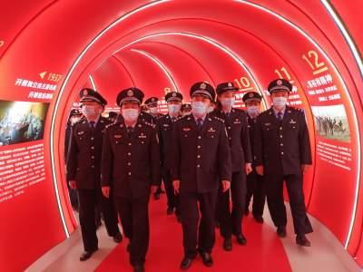 """穿越初心隧道、许下铮铮誓言!这里是曲阜党员的""""精神堡垒"""""""