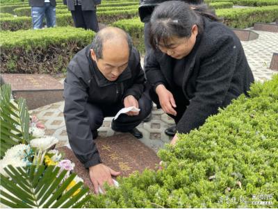 """淚目!闊別73年,安葬在兗州的這位烈士與親人""""重逢"""""""