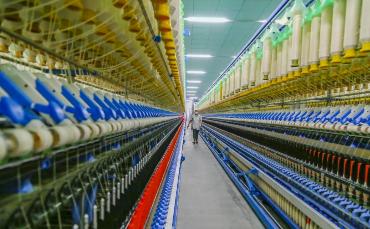 """""""链长制""""助力汶上纺织服装产业换挡提速"""