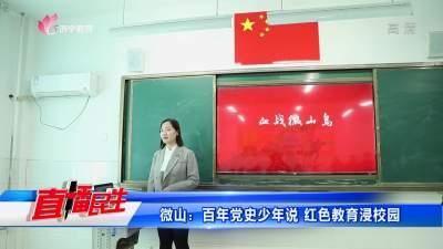微山:百年黨史少年說 紅色教育浸校園