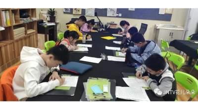 济宁广电艺术培训中心少儿硬笔书法试听课开课啦?。?!