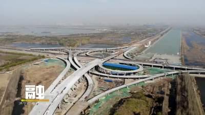 环湖大道东线工程太白湖新区段8月底完成主体施工