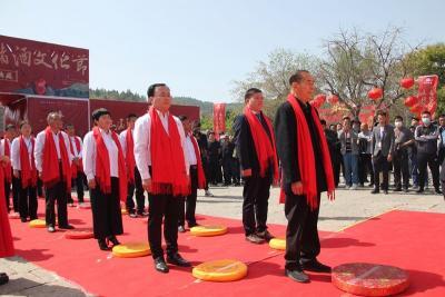 山东第三届梁山泊储酒文化节举办 弘扬水浒文化