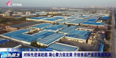 金乡:对标先进园区 开创食品产业发展新局面
