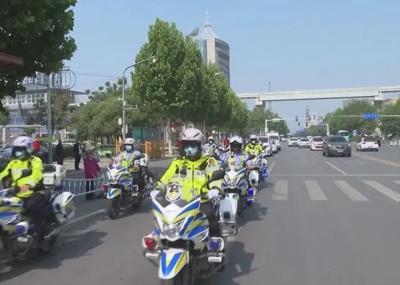 邹城联合执法 启动城区道路交通秩序集中整治