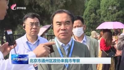 北京通州區政協來濟寧考察優秀傳統文化傳承發展工作
