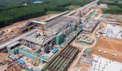 鲁南高铁沿线规模最大的县级站,兖州南站最新进展