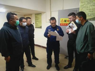 仙营街道开展消防安全夜查联合行动