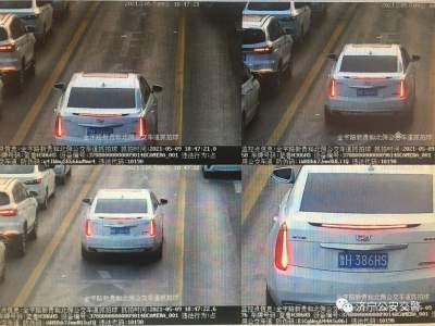 注意!濟寧這些私家車占用公交專用道被曝光