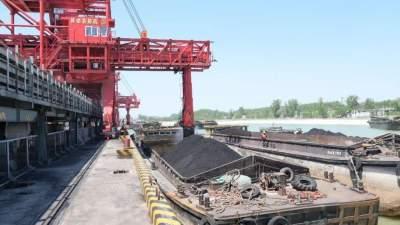 梁山港航运首创单日发运量新高 装载煤炭达12590.35吨
