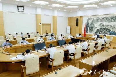 山东省委召开市县乡领导班子换届工作座谈会