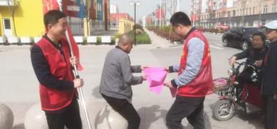 保障权益法律暖心 鱼台张黄镇普法宣传进社区
