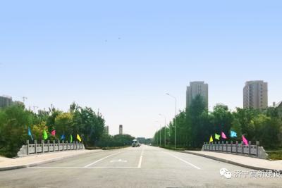 高新区见贤路跨幸福溪桥项目正式通车