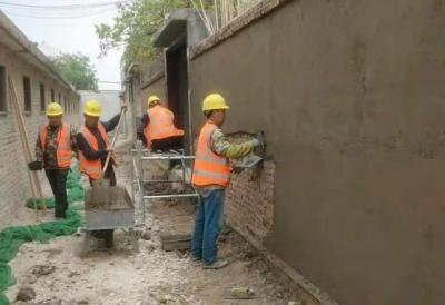 泗水县2021年老旧小区改造工程全面开工