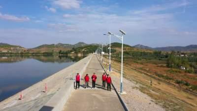 邹城加强水库除险加固 确保群众安全