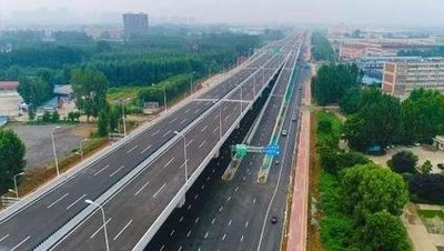内环高架项目地面道路7月底前全部完工