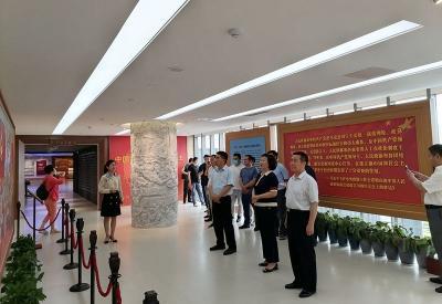 新兖镇(王因街道)小队到市政协文史馆、市博物馆开展党史学习教育