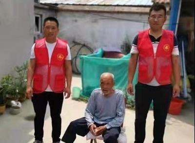 魚臺張黃鎮:走訪退役軍人 傾聽老兵心聲