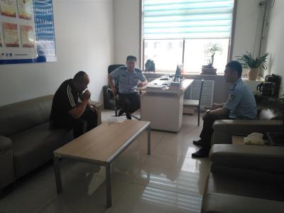 汶上县公安局成功化解一起信访案件
