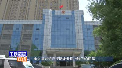 金乡县知识产权助企业插上腾飞的翅膀